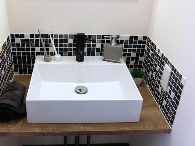 オシャレな手洗い場