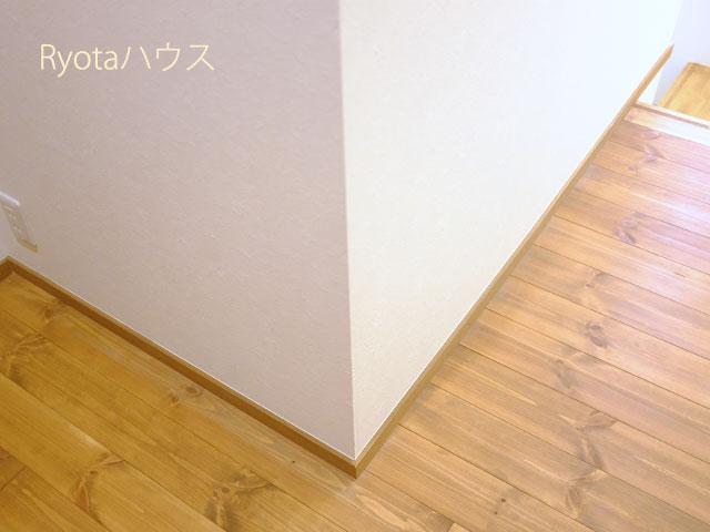 我が家の無垢材の床