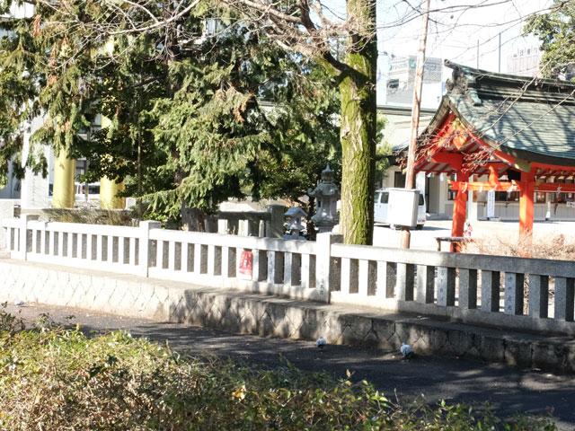 神社に多いブロック塀フェンス