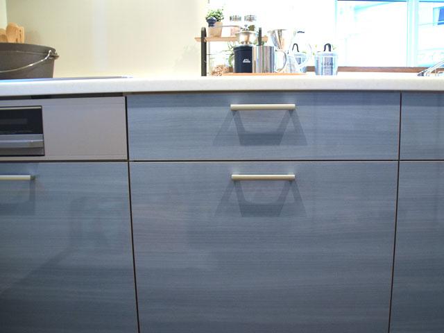 キッチンの収納部分