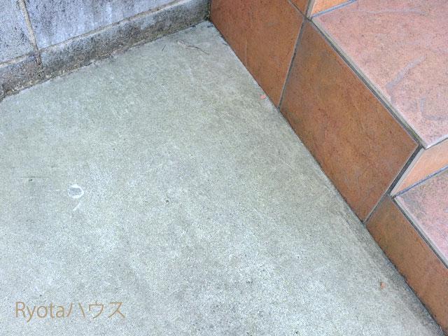 コケっぽいコンクリート