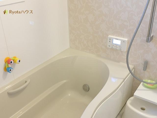 新築お風呂の全体像