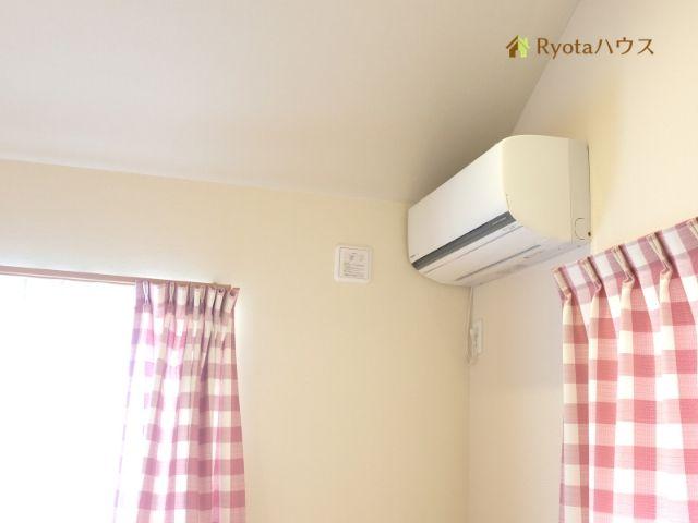 最新で大きめのエアコンを設置する